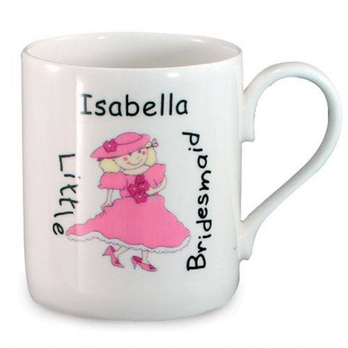 Personalised Bridesmaid Balmoral Mug